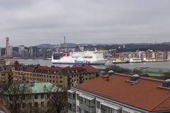 MS Stena Jutlandica in Gothenburg Royalty Free Stock Photos