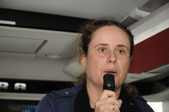 Ms SUSAN HOVEMAND-SIMONSEN_KNUTHENLUND SÄTERI royaltyfri foto