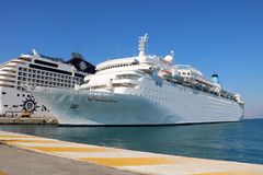 Ms Thomson Dream della nave da crociera Fotografia Stock