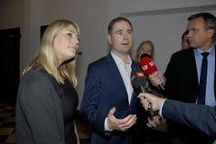 Ms TRINE DEMOKRAT FÖR BRAMSEN_BICOALI CIAL Arkivfoton