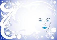 Ms Winter stock de ilustración