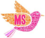 Ms Word Cloud illustrazione di stock