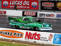 MSA Pro Modified Dragster car Royalty Free Stock Photo