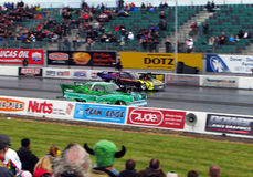 MSA Pro Modified dragster race Royalty Free Stock Image
