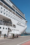 MSC Armonia in Piraeus Royalty Free Stock Photos