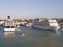 MSC Cruise Ship Stock Image