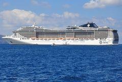 MSC Fantasia Royalty Free Stock Image