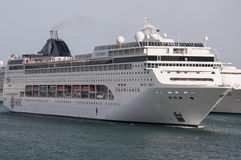 MSC Lirica cruise ship Royalty Free Stock Images