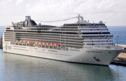 MSC Magnifica Royalty Free Stock Images