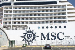 MSC Musica cruise ship Stock Images