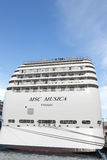 MSC Musica cruise ship Royalty Free Stock Photos