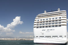 MSC Musica cruise ship Stock Image