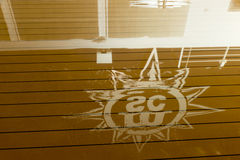 MSC Musica cruise ship wet deck Royalty Free Stock Images