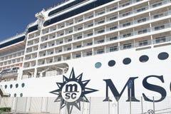 MSC Musica statek wycieczkowy Zdjęcia Stock