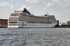 MSC Orchestra cruise ship Royalty Free Stock Photography