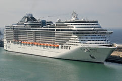 MSC Splendida Stock Photography
