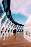 Msc splendida ship trip cruise  travel Royalty Free Stock Image