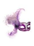 Máscara aislada Imágenes de archivo libres de regalías
