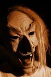 Máscara asustadiza Fotos de archivo