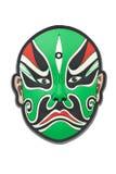 Máscara china de la ópera de Pekín Fotografía de archivo libre de regalías