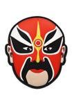 Máscara china de la ópera de Pekín Foto de archivo libre de regalías