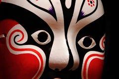 Máscara chinesa da ópera Fotografia de Stock