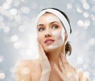 Máscara cosmética Imágenes de archivo libres de regalías