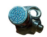 A máscara de gás do vintage isolou-se Fotografia de Stock Royalty Free