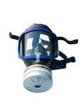 Máscara de gás isolada com trajeto de grampeamento Foto de Stock Royalty Free
