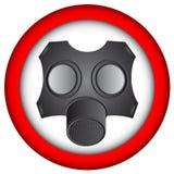 Máscara de la alergia Foto de archivo