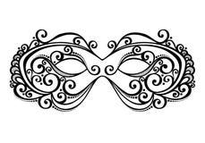 Máscara de la mascarada Imágenes de archivo libres de regalías