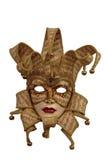 Máscara de Veneza com trajeto de grampeamento Fotografia de Stock Royalty Free