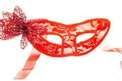 Máscara del carnaval adornada Foto de archivo libre de regalías
