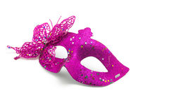 Máscara del carnaval adornada con diseños Imagenes de archivo