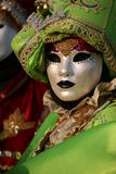 Máscara del carnaval de Venecia Imagen de archivo libre de regalías