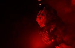 Máscara del diablo Fotografía de archivo libre de regalías