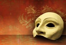 Máscara del teatro Foto de archivo libre de regalías
