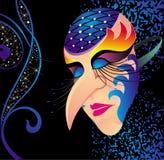 Máscara do carnaval Fotos de Stock Royalty Free