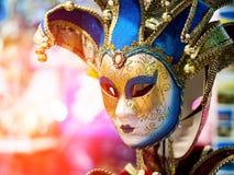 Máscara do carnaval de Enetian Fotografia de Stock Royalty Free