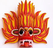Máscara do fogo vermelho, Sri Lanka Imagens de Stock Royalty Free