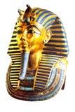 Máscara dourada Imagem de Stock