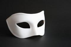 Máscara en negro Fotos de archivo