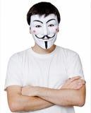 Máscara anônima Fotos de Stock