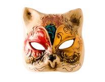 Máscara tradicional de Veneza Fotografia de Stock Royalty Free