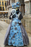 Máscara Venecia del carnaval Fotografía de archivo libre de regalías