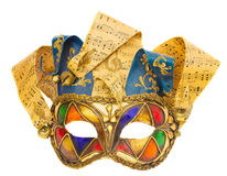 Máscara Venetian Fotografia de Stock Royalty Free
