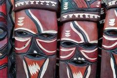 Máscaras africanas Imagem de Stock