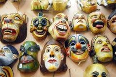Máscaras animales Fotos de archivo libres de regalías