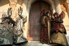 Máscaras de Venecia, carnaval. Imagen de archivo