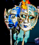 Máscaras de Venitien/Venecia Fotos de archivo